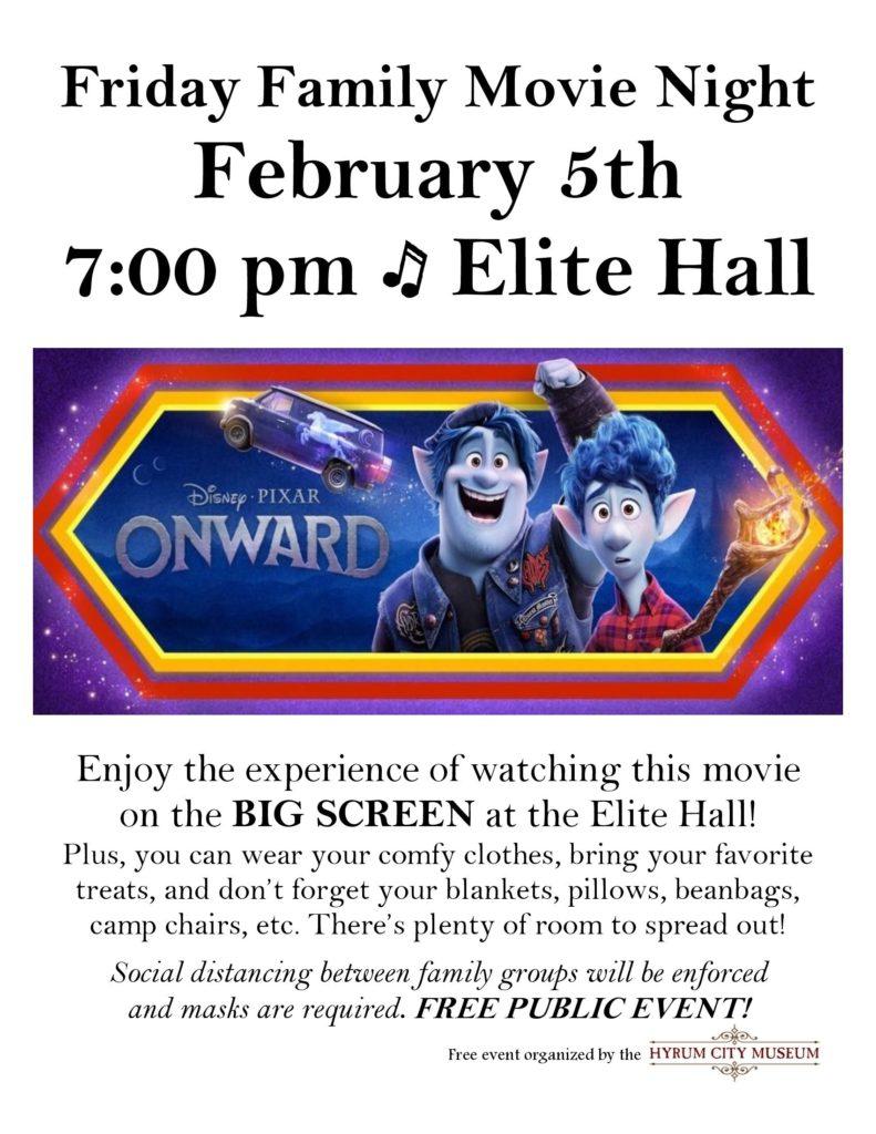 Free Family movie Flyer Feb 5