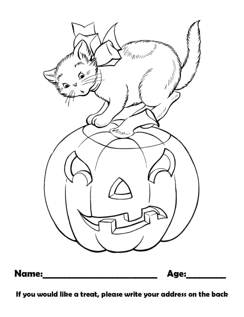 October 2021 coloring contest